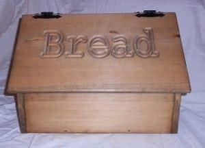 Dicks Wood Creations – Bread Box