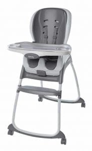Ingenuity Smart Clean Trio 3-in-1 High Chair Slate