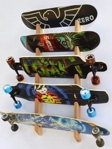 Pro Board Racks Longboard Wall Rack Mount