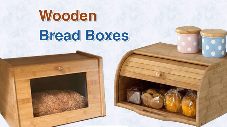 Best wooden bread boxes