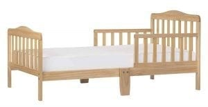 Dream On Me Classic Toddler Bed, Natural