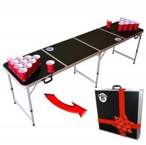 GoPong 8 Foot Portable Beer Pong : Tailgate Tables