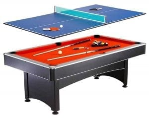 Hathaway Maverick Table Tennis and Pool Table, 7-Ft.