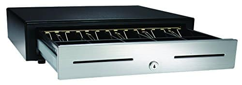 APG VBS320-BL1616 Standard-Duty Stainless-Steel-Front Cash Drawer with Multi PRO 320 Interface