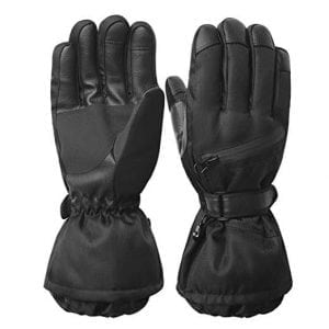 REDESS Men's Waterproof Windproof Ski Gloves