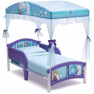 The Delta Children Canopy Toddler Bed, Disney Princess