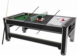 Triumph 3 in 1 Swivel Multigame Table