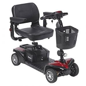 Drive Medical Scout DST 4 Wheel Travel Scooter