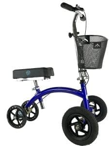 Knee Rover HYBRID Knee Scooter with All Terrain Front Axle Upgrade