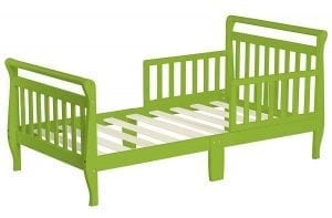 The Dream Sleigh Toddler Bed, Lime Green
