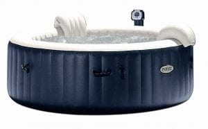 The Intex Pure Inflatable 6 person portable inflatable hot tub