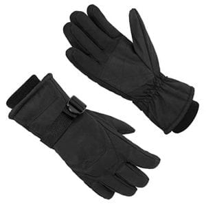 MPHABON Ski Gloves, With Windproof, Breathable and Waterproof Protection Gloves