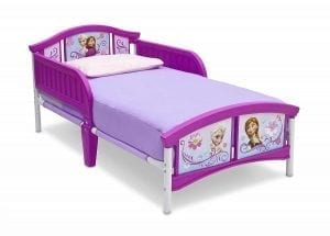 The Delta Children Plastic Toddler Bed, Disney Frozen