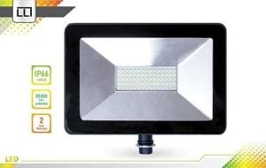 LLT 50W LED Flood light with Knuckle Mount Super Slim SMD Outdoor Landscape Security Waterproof