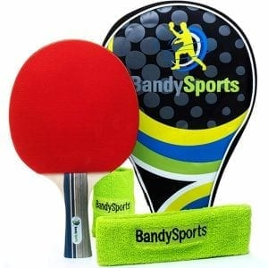 Professional Ping Pong Paddle Racket Set