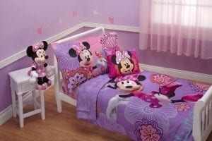 The Disney friends toddler bedding set