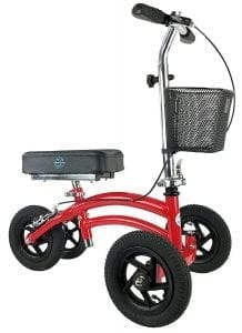 Small Petite Adult All Terrain Knee Rover Jr - Steerable Knee Walker Knee Scooter