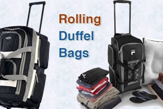 Top 10 Best Rolling Duffel Bags in 2019   Easy Packing Luggages 8150d630fd