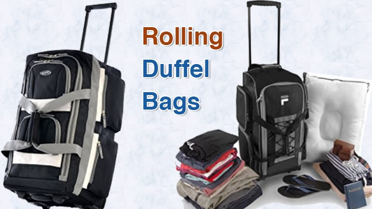 c854edcd357 Top 10 Best Rolling Duffel Bags in 2019 | Easy Packing Luggages