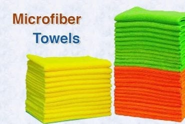 Microfiber towel cleaning cloths