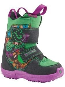 Burton Marvel YOUTH Mini Grom Hulk Snowboard Boots In Box