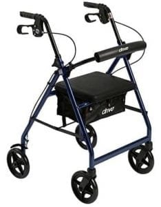 Drive Medical Rollator Walker with Fold Up