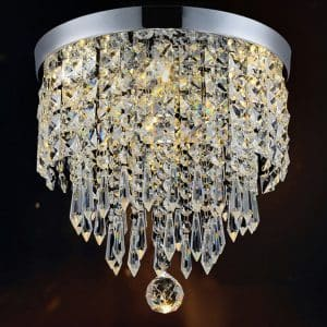 Hile Lighting KU300074 Modern Chandelier Crystal Ball