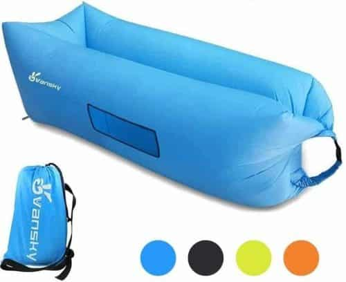 Inflatable Lounger, Vansky 2.0 Inflatable Couch Hammock Portable Air Chair