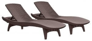 Patio Chaise Outdoor Lounge Chair