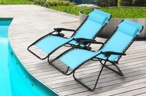 Zero Gravity Outdoor Lounge Chair
