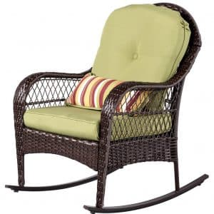 Sundale Outdoor Wicker Rocking Chair