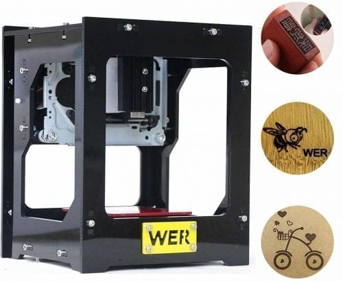 WER Miniature DIY Laser Engraving Machine