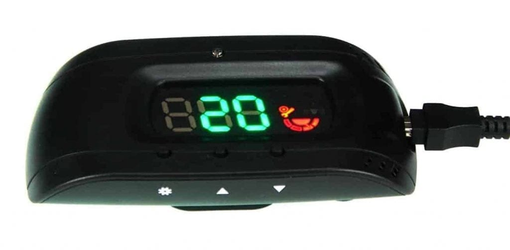 SEI GPS head-up display speedometer