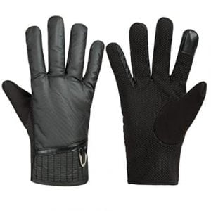 GLOUE Men's Waterproof Touchscreen Thick Winter Gloves