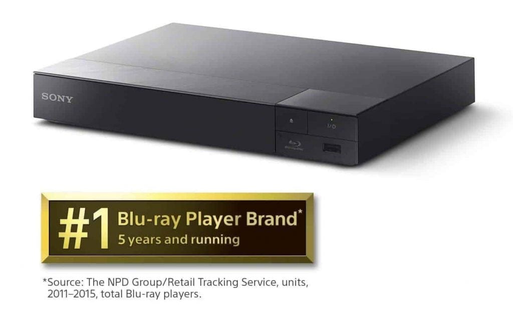 Sony BDPS6700 4K Upscaling 3D Streaming Blu-Ray Disc Player