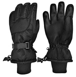 N'Ice Caps Unisex Adult Waterproof Ski Mittens and Gloves