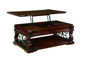 Ashley Furniture Signature Design - Alymere Lift Top Coffee Table