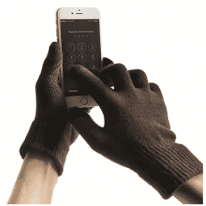 Touch screen gloves winter men and women knitted warm gloves by MPHABON