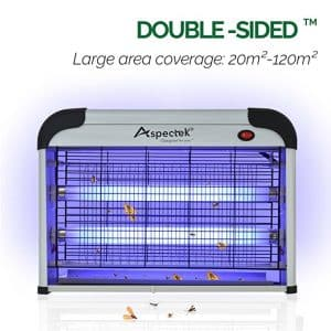 Aspectek 20W 6000sqft Coverage Electronic Indoor Commercial insect and mosquito killer