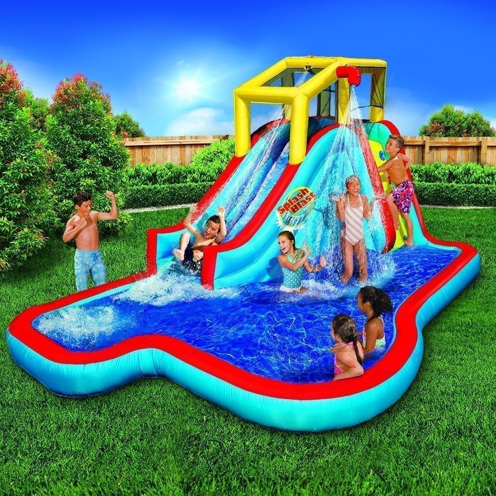 Top 10 best inflatable water slides in 2018 ultimate for Best children s paddling pool