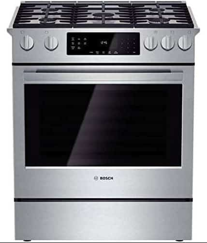 Bosch HGI8054UC Stainless Steel Gas Slide-In Sealed Burner Range