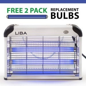 Bug Zapper & Electric Indoor Insect Killer by LiBa – Mosquito, Bug, Fly & Other Pests Killer