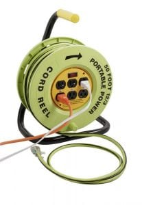 Designers Edge E-238 Power Stations 12:3-Gauge Cord Reel
