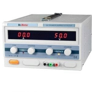 Dr.meter DC Power Supply 50V 20A High Current Switching Single-output 1000W