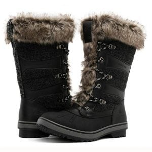 Global Win GLOBALWIN Women's 1730 Winter Snow Boots