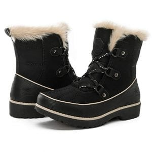 Global Win GLOBALWIN Women's Fur Trek Winter Boots