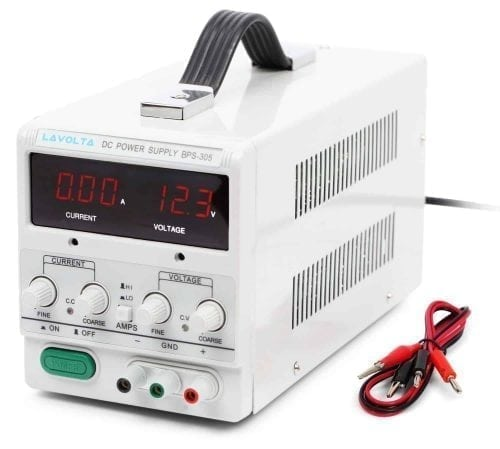 Lavolta Variable Linear DC Bench Power Supply