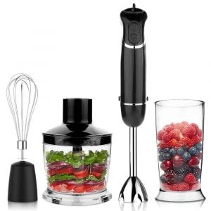 OXA Powerful Immersion Hand Blender Set