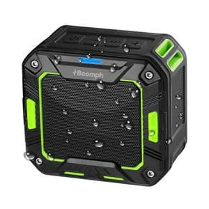 Portable Bluetooth Wireless Speaker. Water Resistant & Shockproof: Rechargeable, Enhanced 10 Hr Battery,