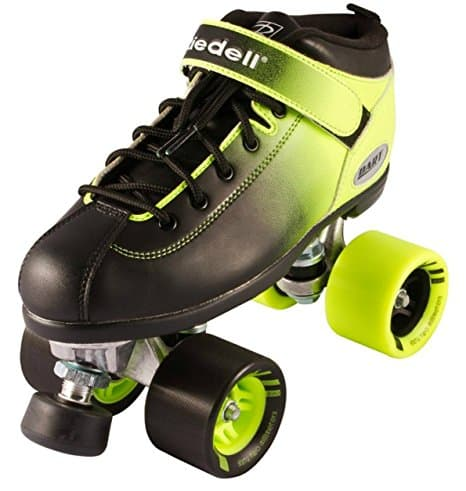 Riedell Dart 2 Tone Ombre Quad Roller Speed Skate Youth